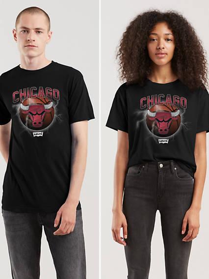 045d6626ac3 Chicago Bulls. Levi s® NBA Short Sleeve Tee Shirt