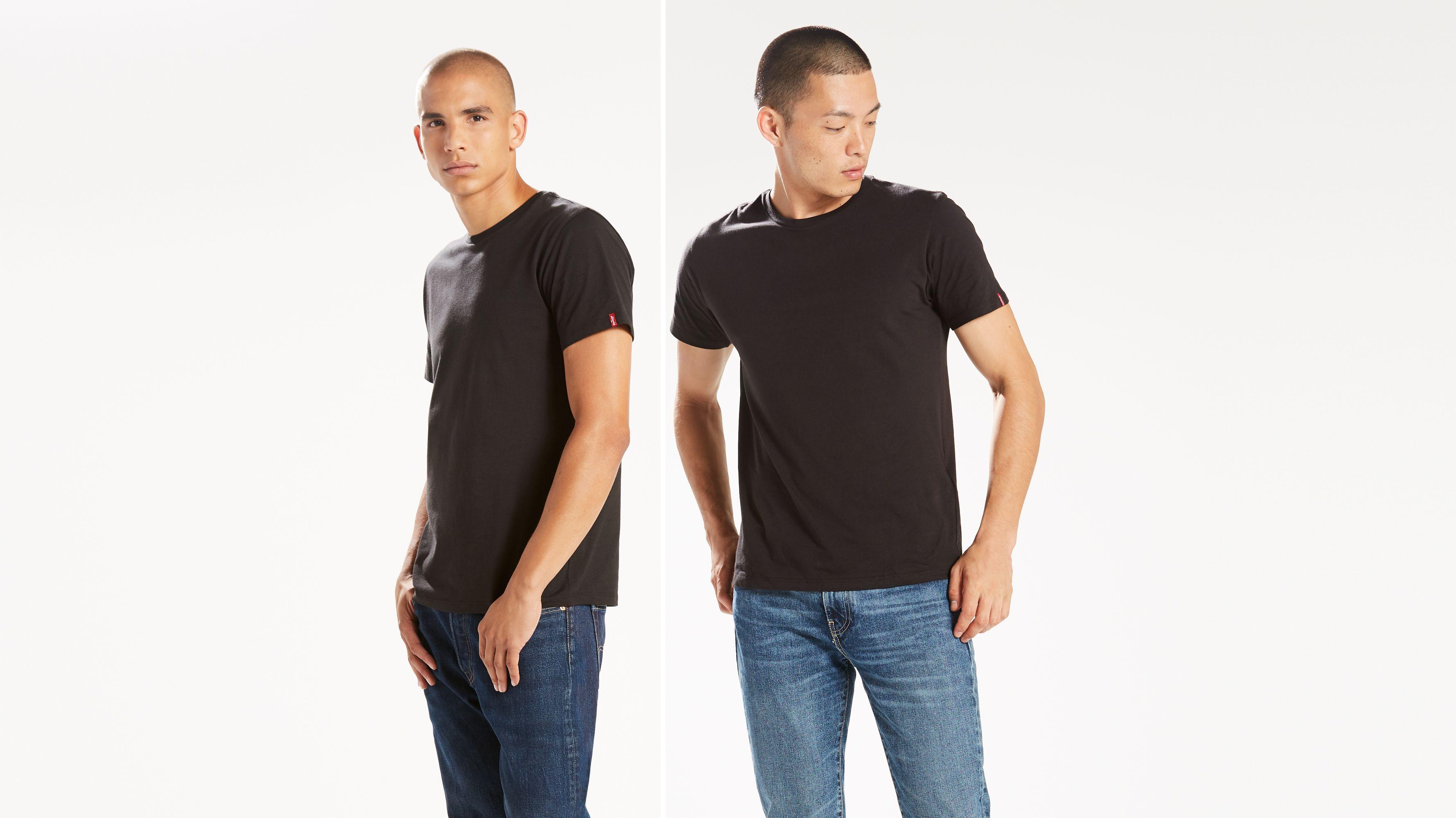 Levi's Typography Men's Round Neck Multicolor T Shirt Buy
