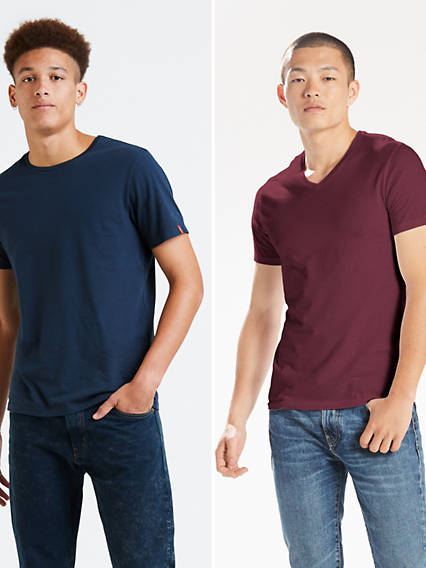 Slim Crew Tees (2 Pack)