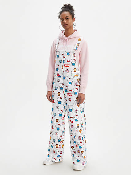 Levi's® x Hello Kitty Baggy Overalls