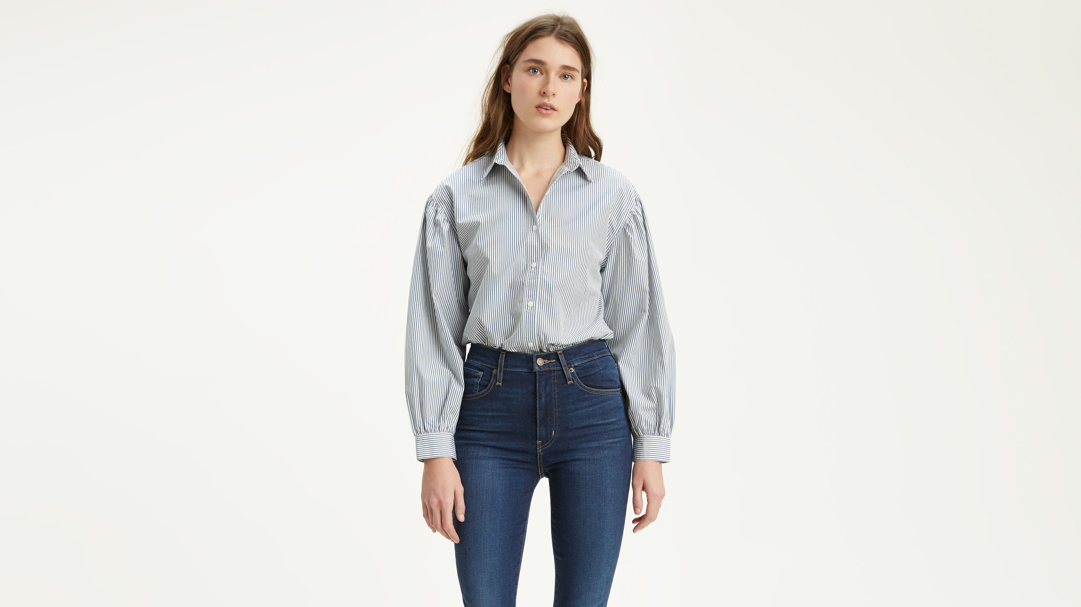 0325960a Diana Shirt - Blue   Levi's® US
