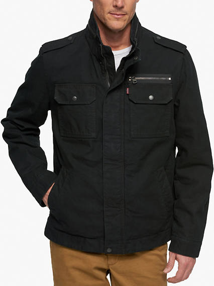 Two Pocket Military Jacket