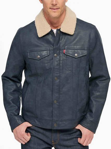 Classic Trucker Jacket with Removable Sherpa Collar