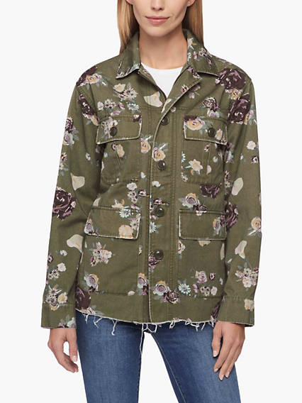 Printed Field Jacket
