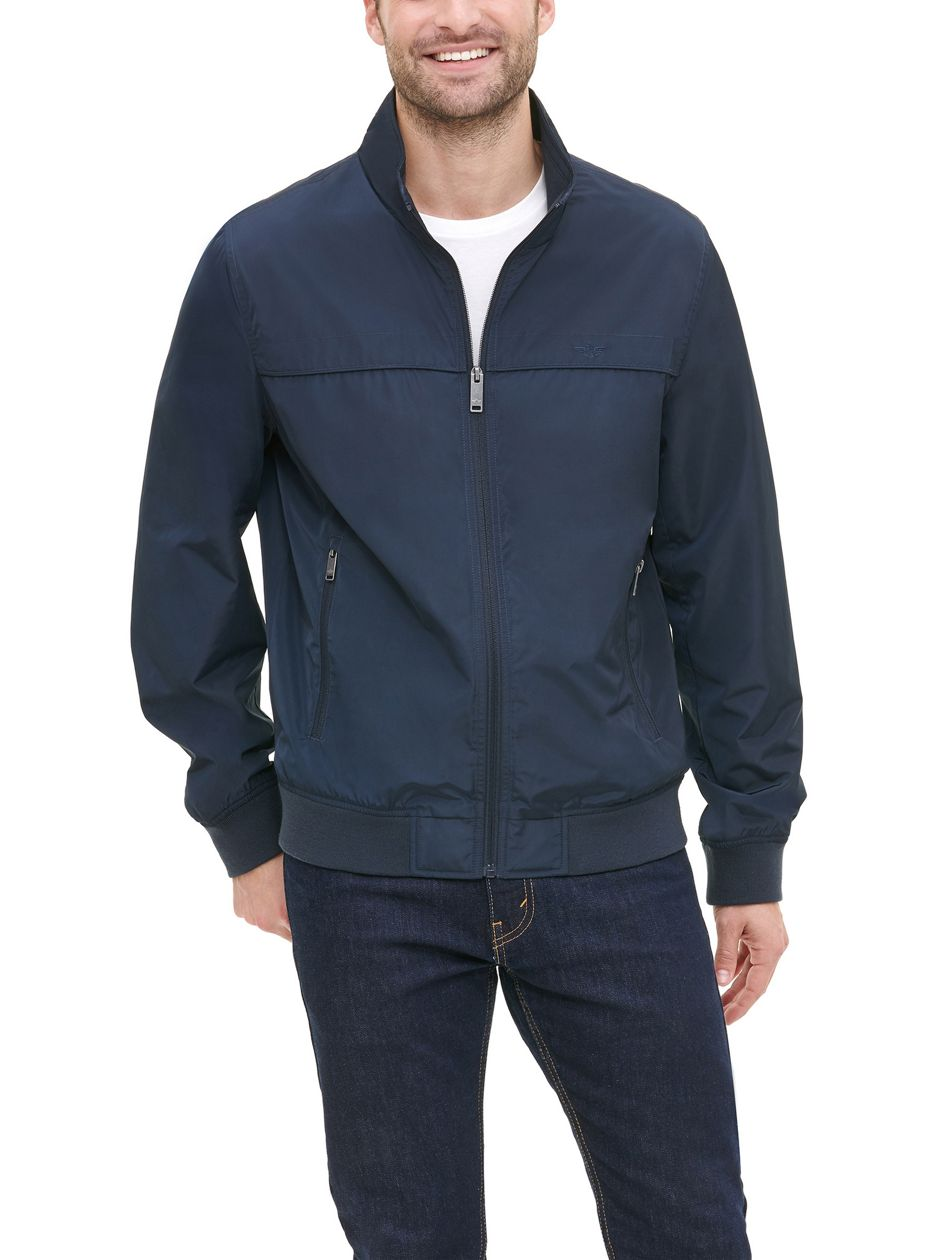 Stand Collar Bomber - Blue Mdm0rp407   Dockers® US