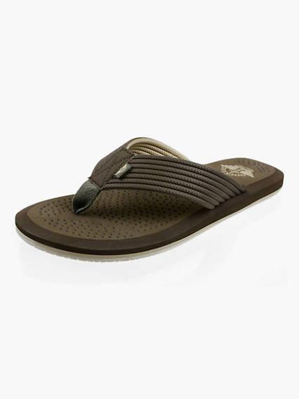 Men's Dockers? Perforated Molded Flip Flops