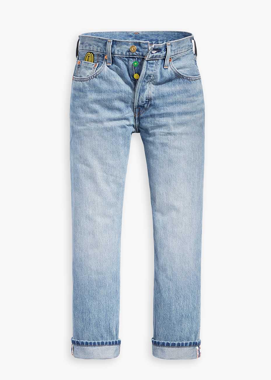 Levi's® x Super Mario 501® Crop Selvedge Jeans