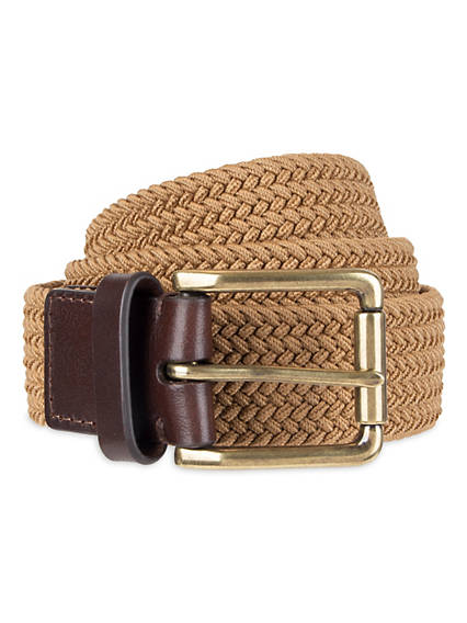 Men's Stretch Braid Belt