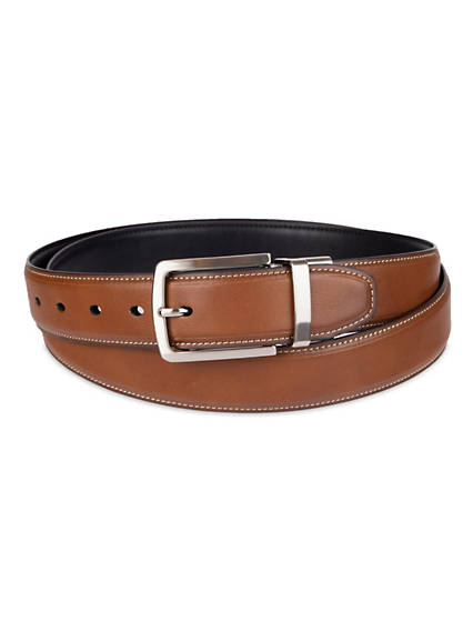 Men's Big & Tall Reversible Leather Belt