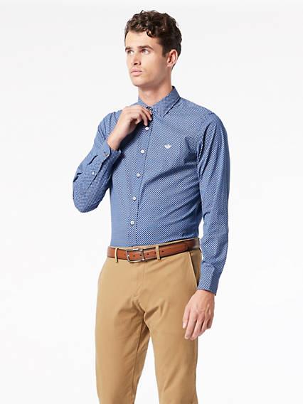 Refined Poplin Shirt