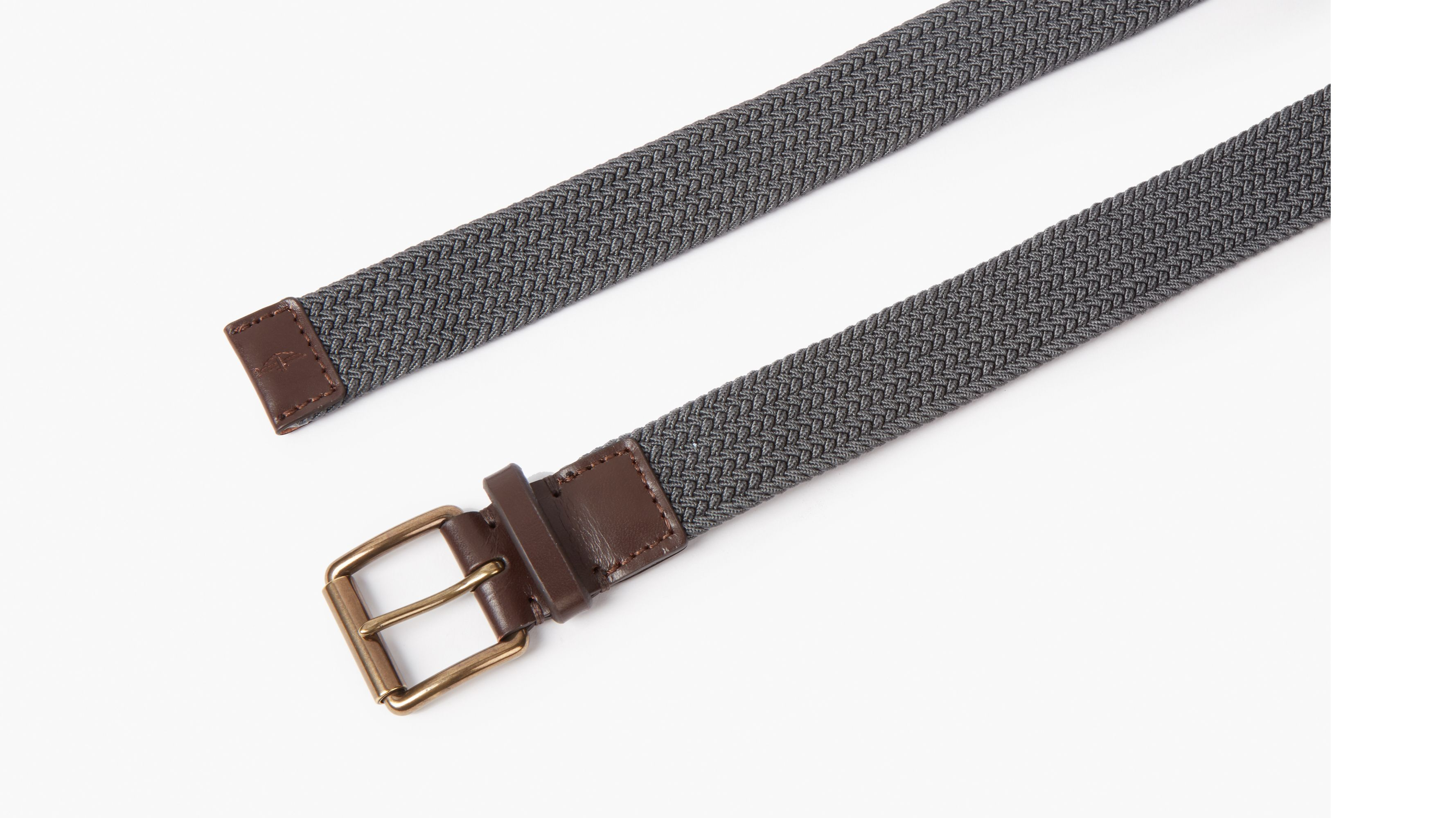 Dockers Men/'s Braided Belt Tan 48