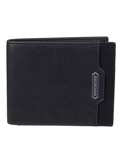 This small front pocket wallet is for the guys who want to feel like they have nothing in their pockets Magnetic money clip to keep your cash secure 4 interior card slot pockets allows you plenty of room to hold all your essentials An RFID shield protects your data from electronic theft Features the iconic embossed Dockers® anchor logo Includes gift box tin for yourself or that special guy Men\\\'s Slimfold Wallet One Size - Black. Dockers Official Site.
