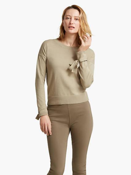 Women's Sleeve Detail Sweater