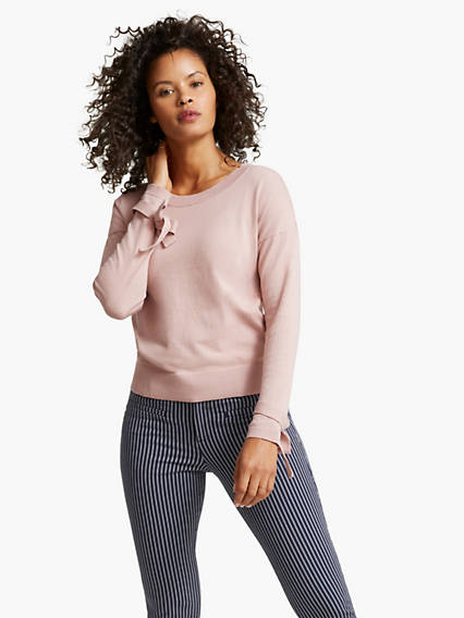 Women's Sleeve Detail Sweater