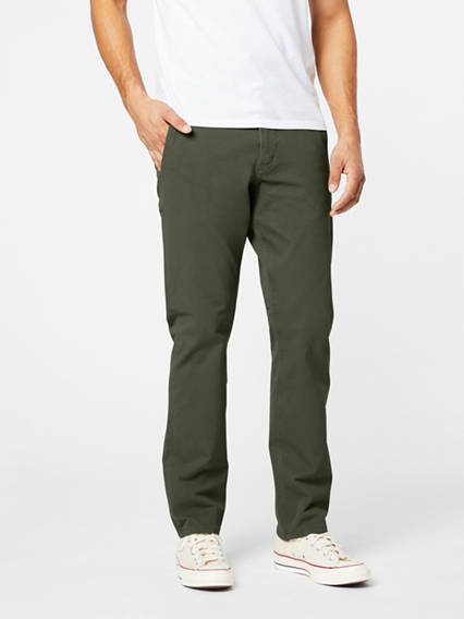 Dockers? Alpha Men's Khaki Pants, Slim Fit