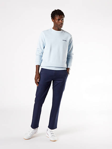 Alpha Chino, Slim (Tapered) Fit - Stretch Twill