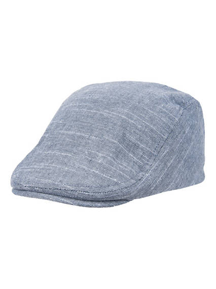 Men's Slub Linen Top Ivy Hat