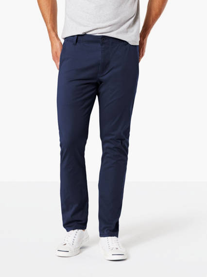 Dockers? Alpha Men's Khaki Pants, Skinny Fit