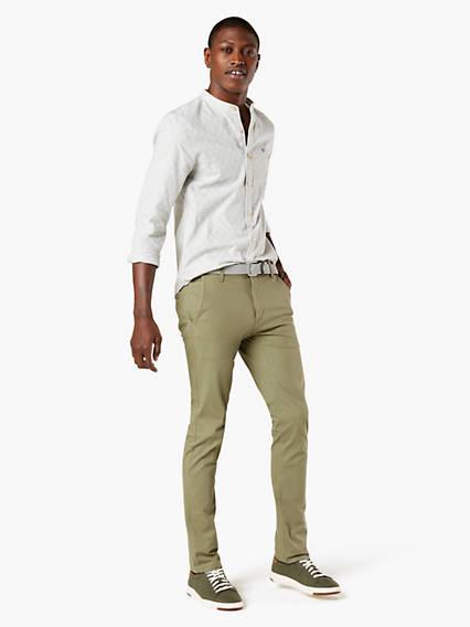 Alpha, Skinny Fit - Lightweight Textured