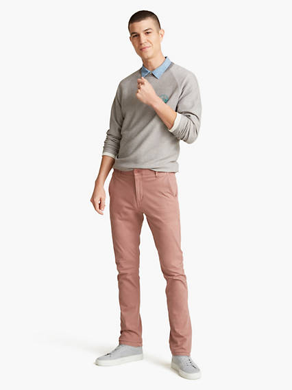 Alpha, Skinny Fit - Lightweight Textured