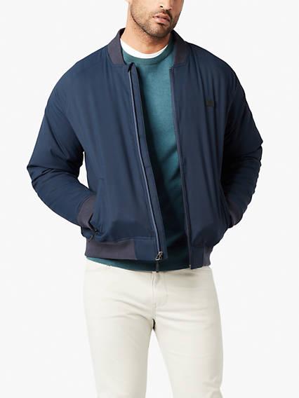 Plaited Jersey Crew Sweater