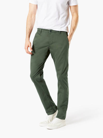 Dockers® Alpha Men's Supreme Flex™ Khaki Pants, Skinny Fit