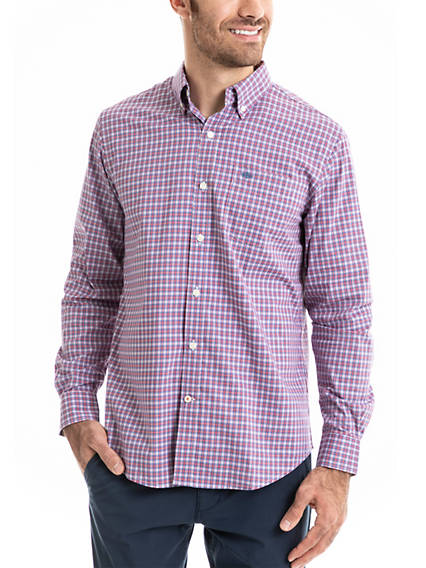 Men's Signature Comfort Flex, Button Down Shirt, Classic fit