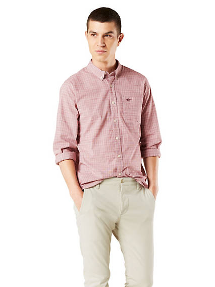 Men's Button-Down Shirt, Slim Fit