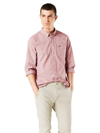 Men's Button-Down Shirt, Slim Fit