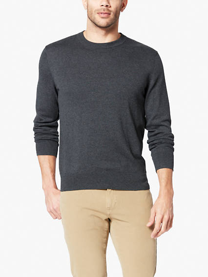 Men's Heather Crew Sweater