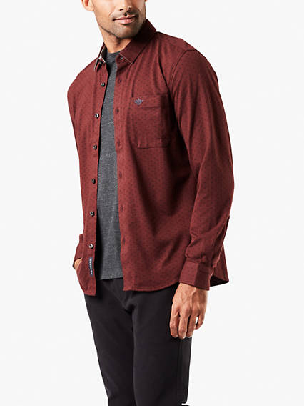 Men's Smart 360 Flex™ Button-Up Shirt, Slim Fit