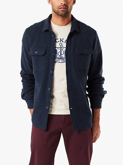 Men's Reverse Terry Jacket