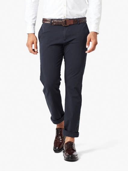 Smart 360 Flex Chino, Slim Fit- Side Stripe