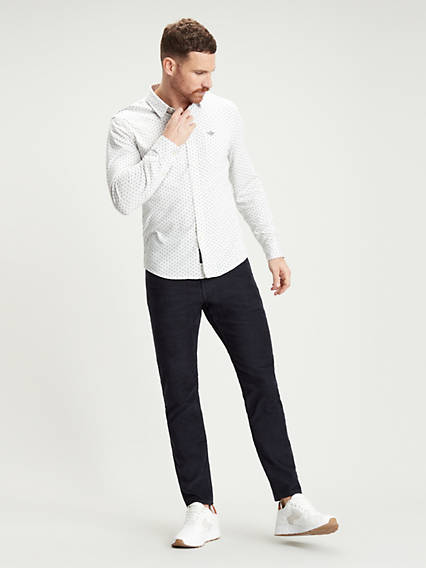 Jean Cut, Slim Fit - All Seasons Tech Cord