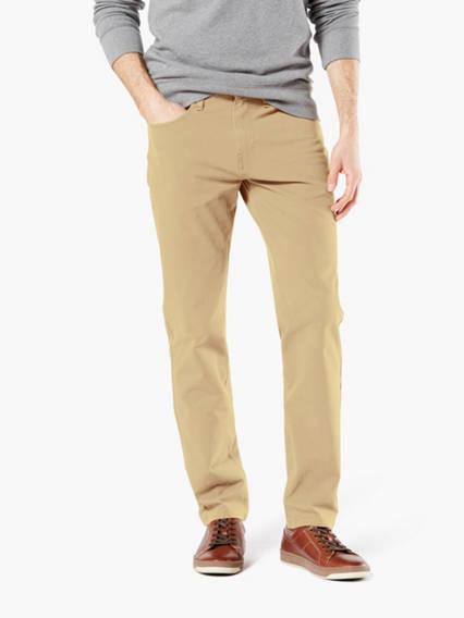 Big & Tall Jean Cut Pants With Smart 360 Flex™, Tapered Fit