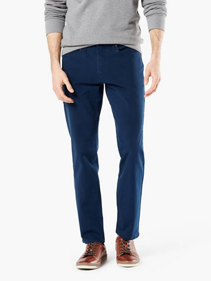 Men's Big & Tall Jean Cut Pants, Tapered Fit
