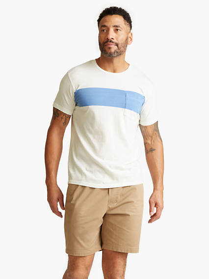Men's Color Block Tee Shirt