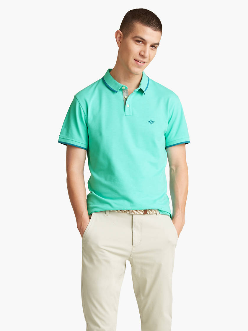 Last Call Men's Slim Fit Performance Polo Shirt