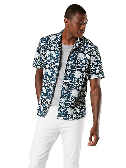 Men's Resort Button-Up Shirt