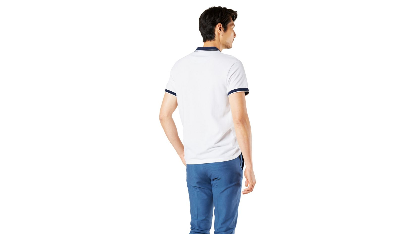 Performance Polo, Slim Fit - White 861610000   Dockers® US