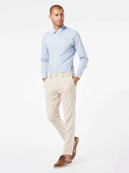 Chino, Tapered Fit - Linen
