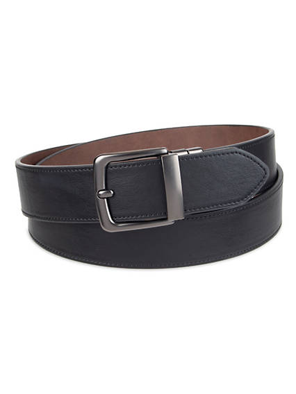Men's Custom Fit Stretch Reversible Belt
