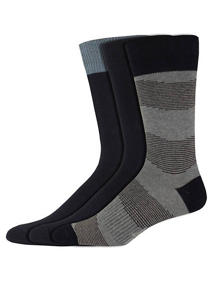 Men's Waves Crew Socks