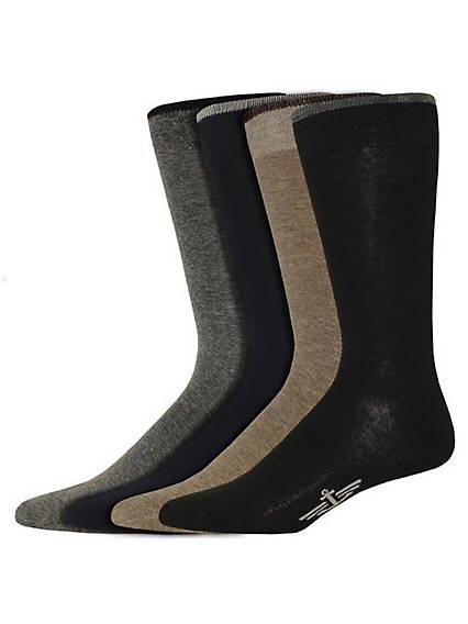 Men's Dress Crew Socks