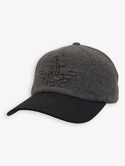 Men's Melton Baseball Cap
