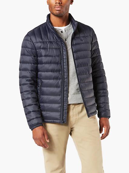 Men's Packable Puffer Jacket