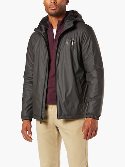 Sherpa Lined Rain Jacket
