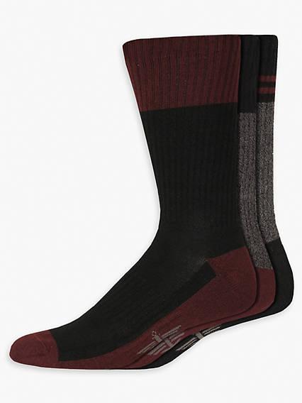 Men's Marled Crew Socks