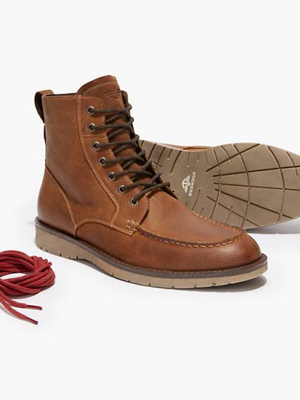Men's Broken In Sequoia Rugged Boots