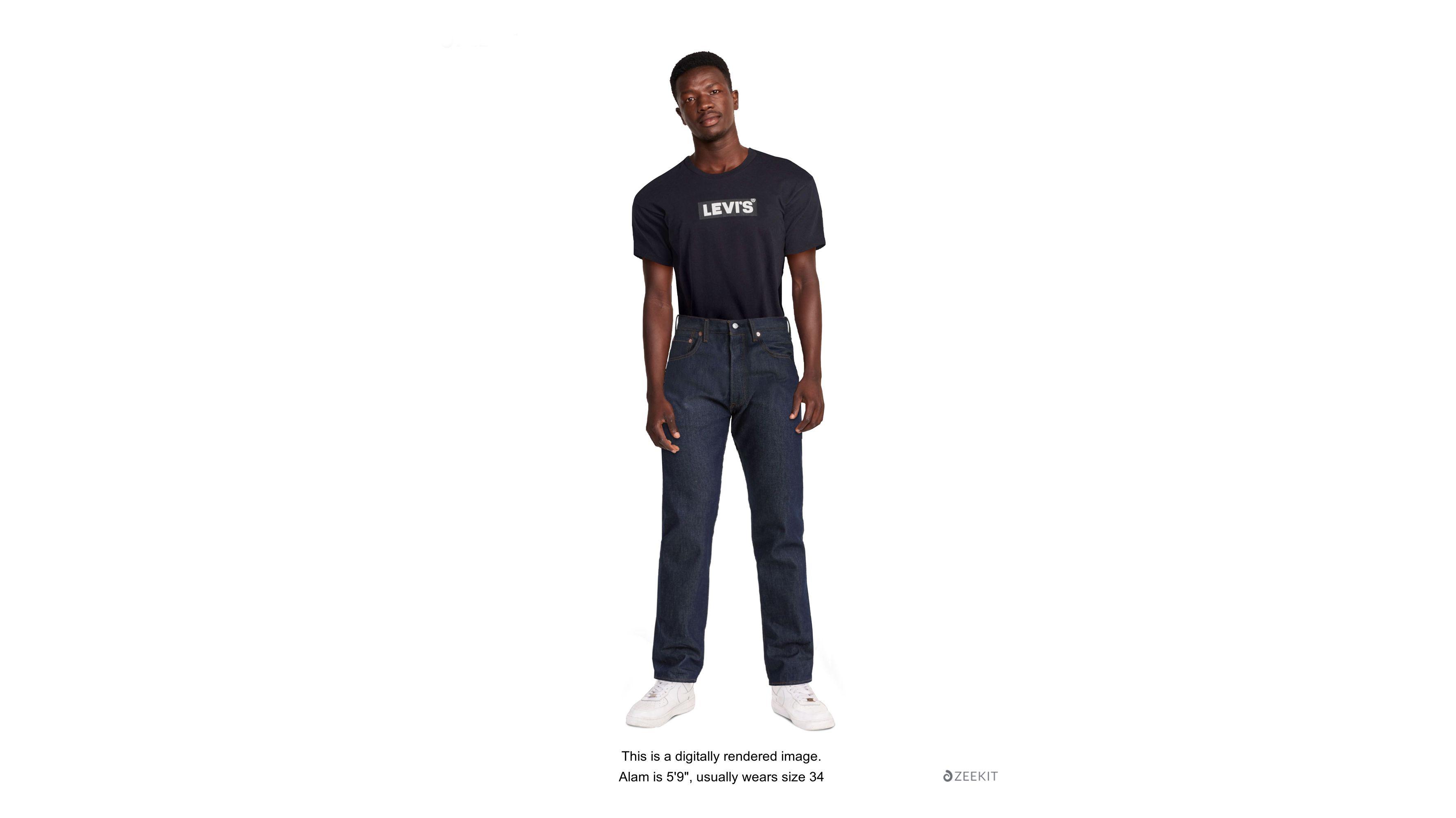 501® Original Shrink to fit™ Men's Jeans Dark Wash